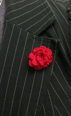 Custom Made Boutonniere Lapel Flower