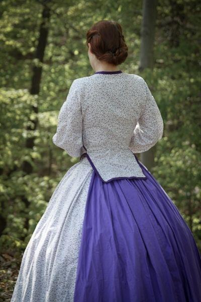 Hand Crafted Civil War Era Dresses by Anna's Attire