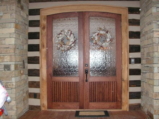 Custom Made Arched Entry Doors