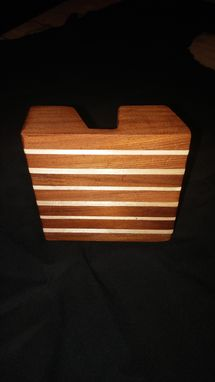 Custom Made Wooden Business Card Holder