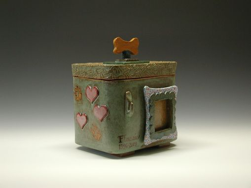 Custom Made Customized Dog Urn