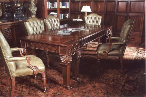 Custom Made Custom Rosewood Library Table
