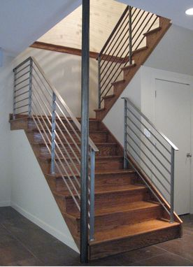 Custom Made Rudess Stair Railing