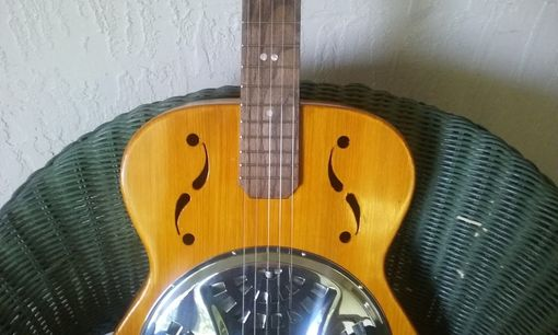 Custom Made Cypress Resonator Guitar