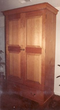 Custom Made Linda's Pine Wardrobe