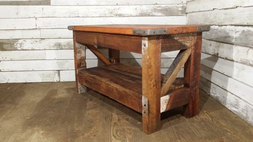 Custom Made Saloon Style Western Coffee Table