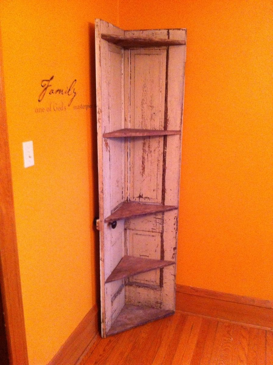 Custom Made Corner Cabinet By Dad S Dream Re Purposed