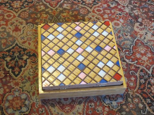 Custom Made Scrabble Board