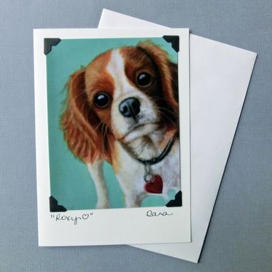 Custom Made Cavalier King Charles Magnet - Dog Magnet - Dog Art Magnet - Stocking Stuffer