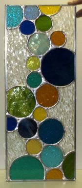 Custom Made Contemporary Door Panel  (P-10)