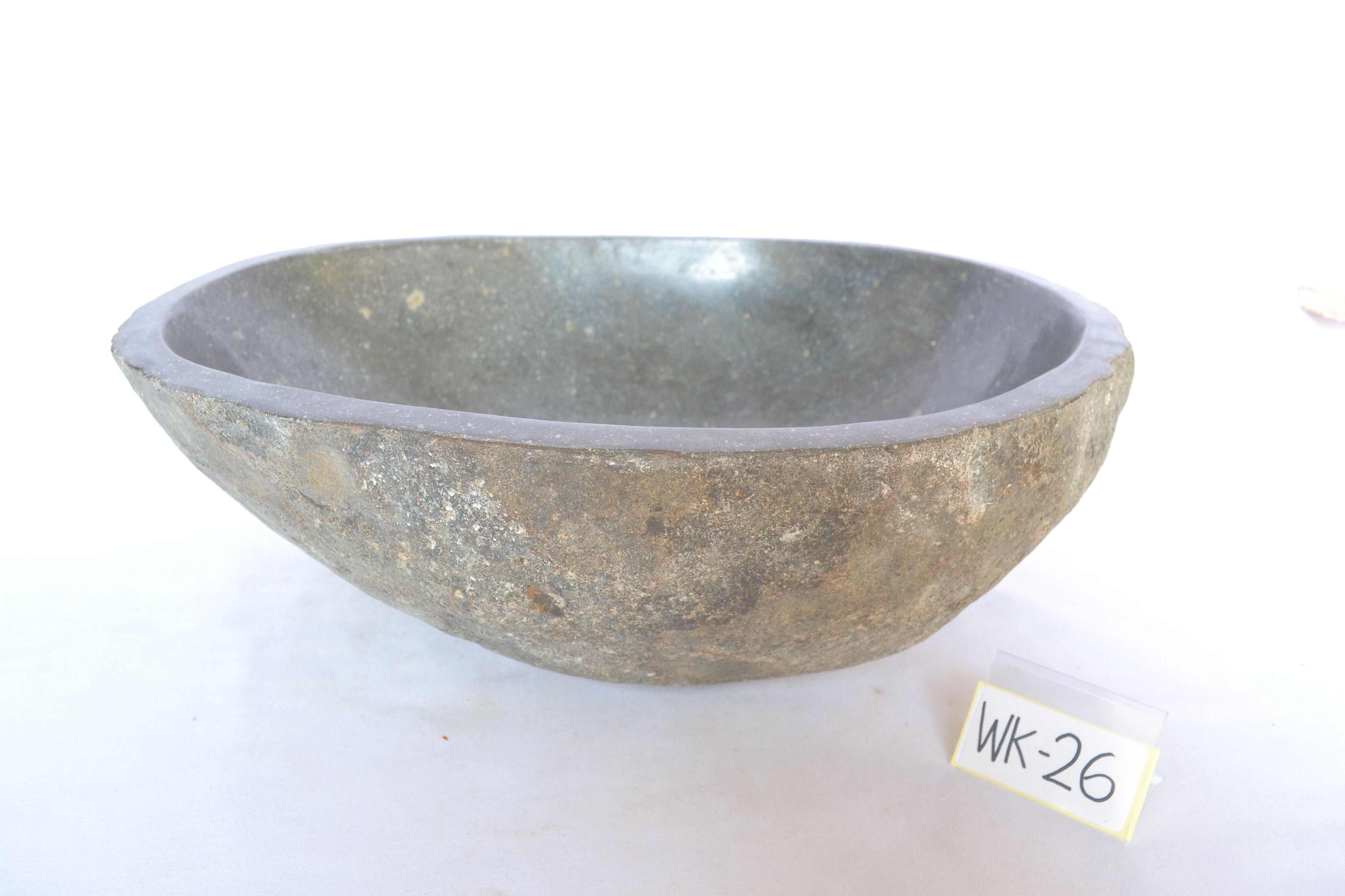 Buy A Custom Made River Rock Sink Handmade Granite