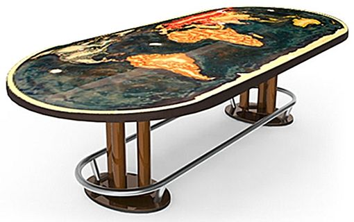 Custom Made Globe Table