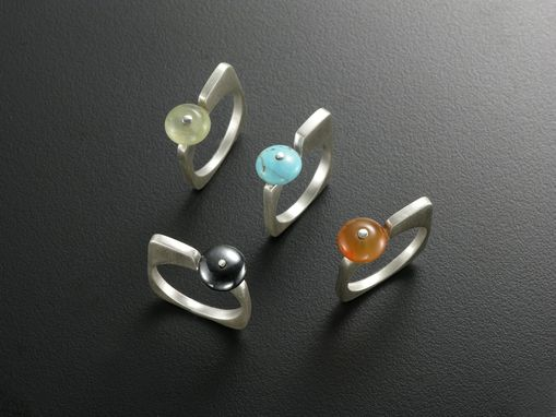 Custom Made Modernism Rings