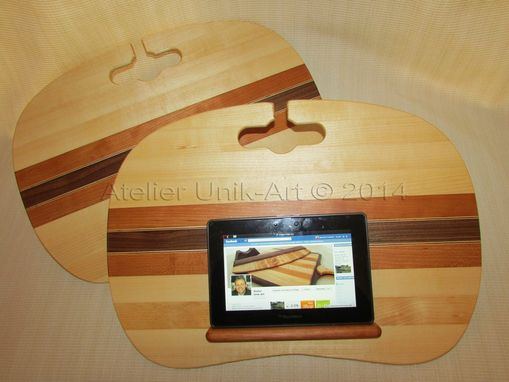 Custom Made Wooden Reading Tray - Tablet Holder - Laptop Bed Tray