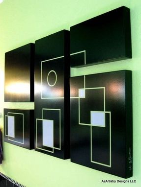 Custom Made Painted Art Panels