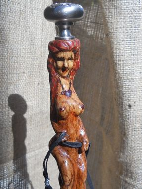 Custom Made Little Red Riding Wood - Gentlemans Walking Cane