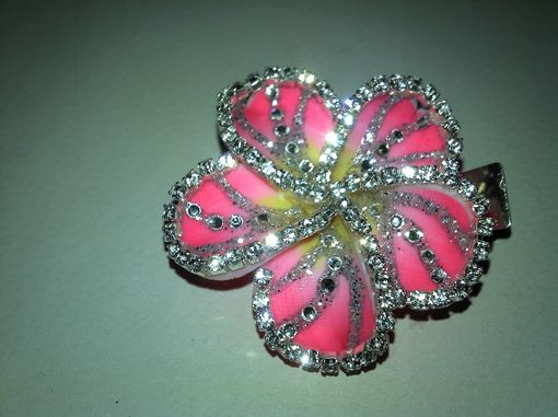 Custom Made Two Tone Pink Plumeria