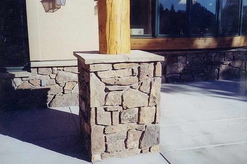 Custom Made Various Stone Columns