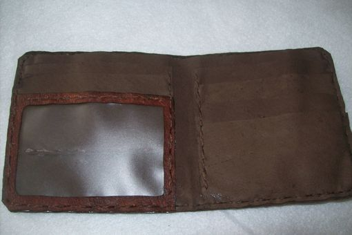 Custom Made Leather Bifold Wallet