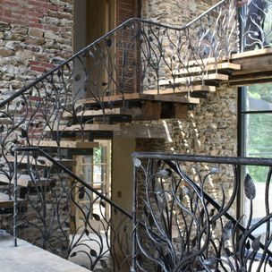 Stair Railing By