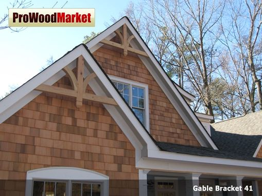 Custom Made Gable Bracket 41