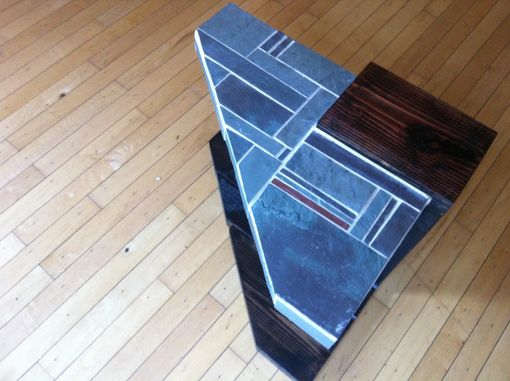 Custom Made Slate End Table