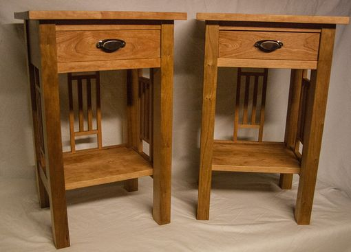 Custom Made Arts And Crafts Nightstands