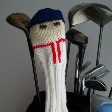 Custom Made Red Sox Golf Club Cover