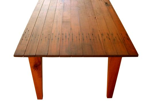 Custom Made Rustic Reclaimed Farmhouse Dining Table