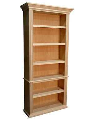 Custom Made Traditional Style Bookcase