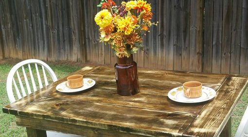 Custom Made Colonial Farmhouse Table