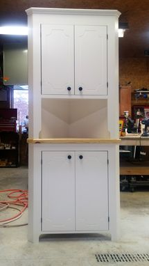 Custom Made Corner Hutch