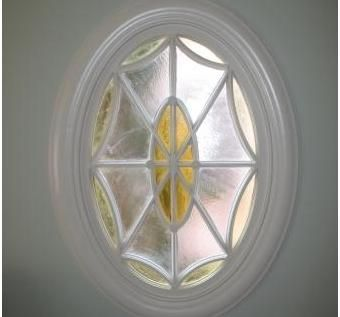Custom Made Oval Window Replication