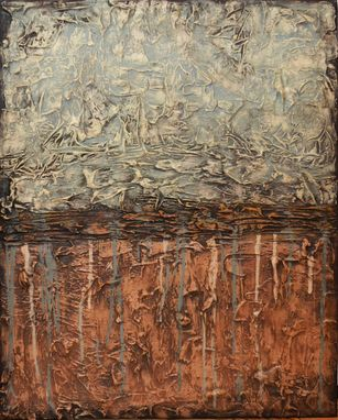 "Custom Made 24x30 Original Modern Textured Contemporary Abstract Painting By Alisha ""Victorian"""