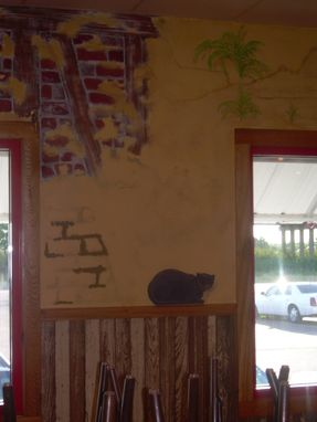 Custom Made Middendorf's Restaurant - Bayou Mural