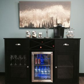 Sideboard With Wine Rack By Heather Jones