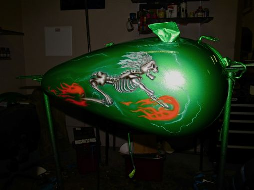 Custom Made Skeleton Rider