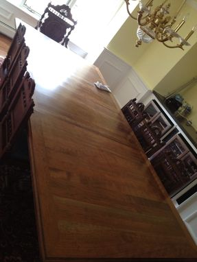 Custom Made Dining Room Cherry Table