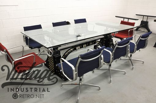 Custom Made Industrialux Bronx Conference Table