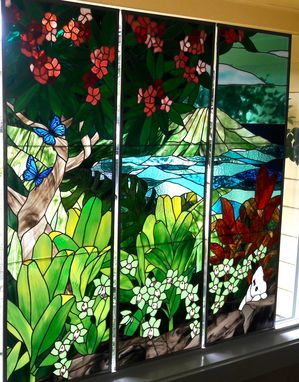 Custom Made Triptych - Room With A View