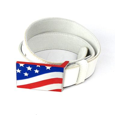 Custom Made Nxt18 Golf American Flag Belt