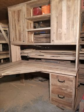 Custom Made Reclaimed Corner Desk