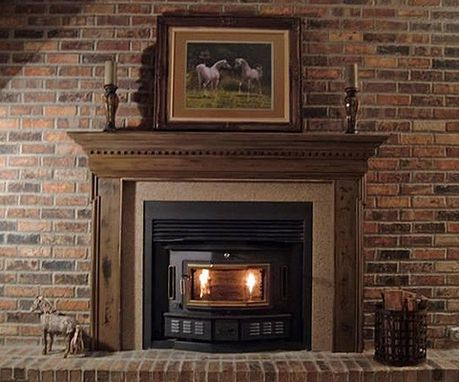 Custom Made Traditional Sacramento Fireplace Mantel