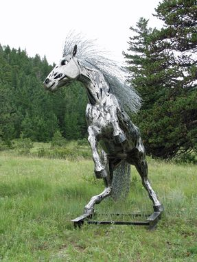 Custom Made Life-Sized Horse Sculpture