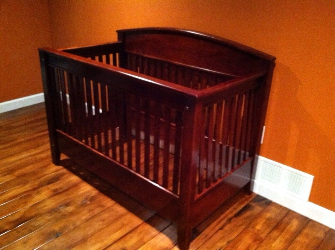 Custom Made 3 In 1 Crib Toddler Bed Full Size