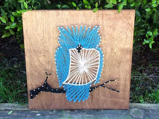 Custom Made Owl String Art