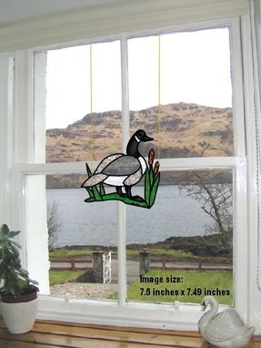 Custom Made Canadian Goose window hanging
