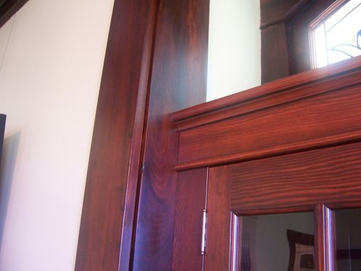 Custom Made Built-In China Cabinet