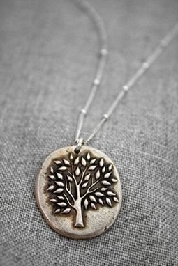 Custom Made Bronze - Calm Bonsai Tree Necklace - $50
