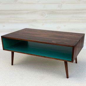 The Slim Mid Century Modern Coffee Table By Jeremy And Charlene Brown